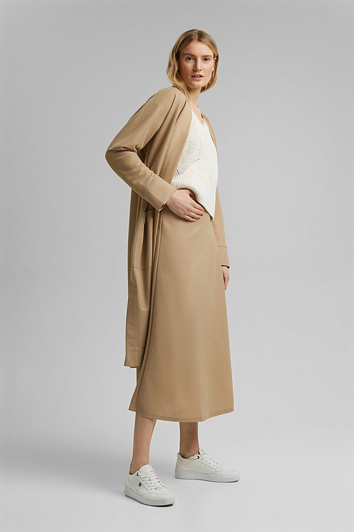 PIQUE mix + match midirok, BEIGE, detail image number 1