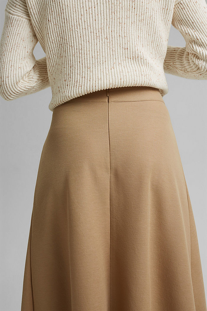 PIQUE mix + match midirok, BEIGE, detail image number 2