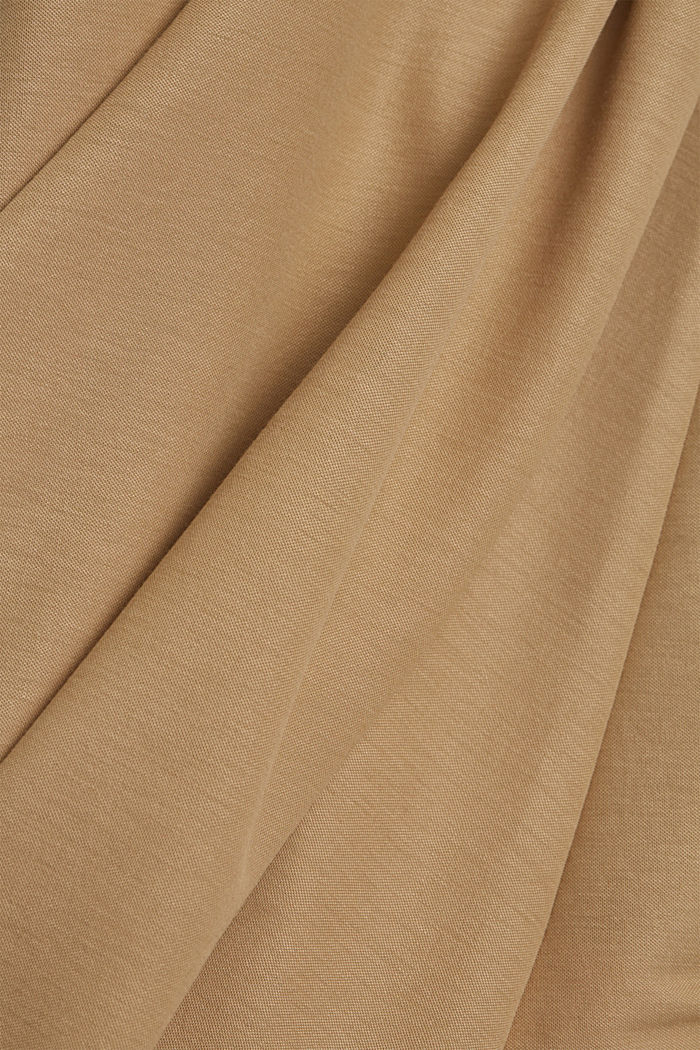 PIQUE mix + match midirok, BEIGE, detail image number 4