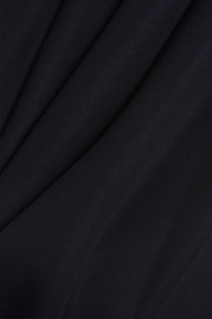 PIQUE Mix + Match midi skirt, NAVY, detail image number 4