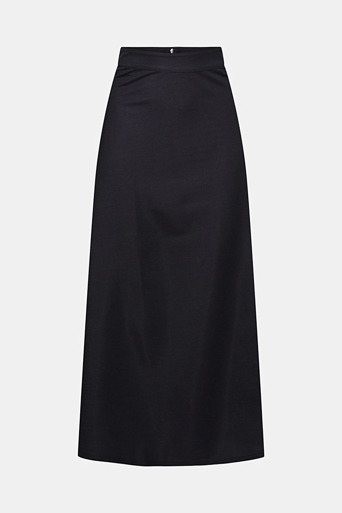 PIQUE Mix + Match midi skirt, NAVY, detail image number 7