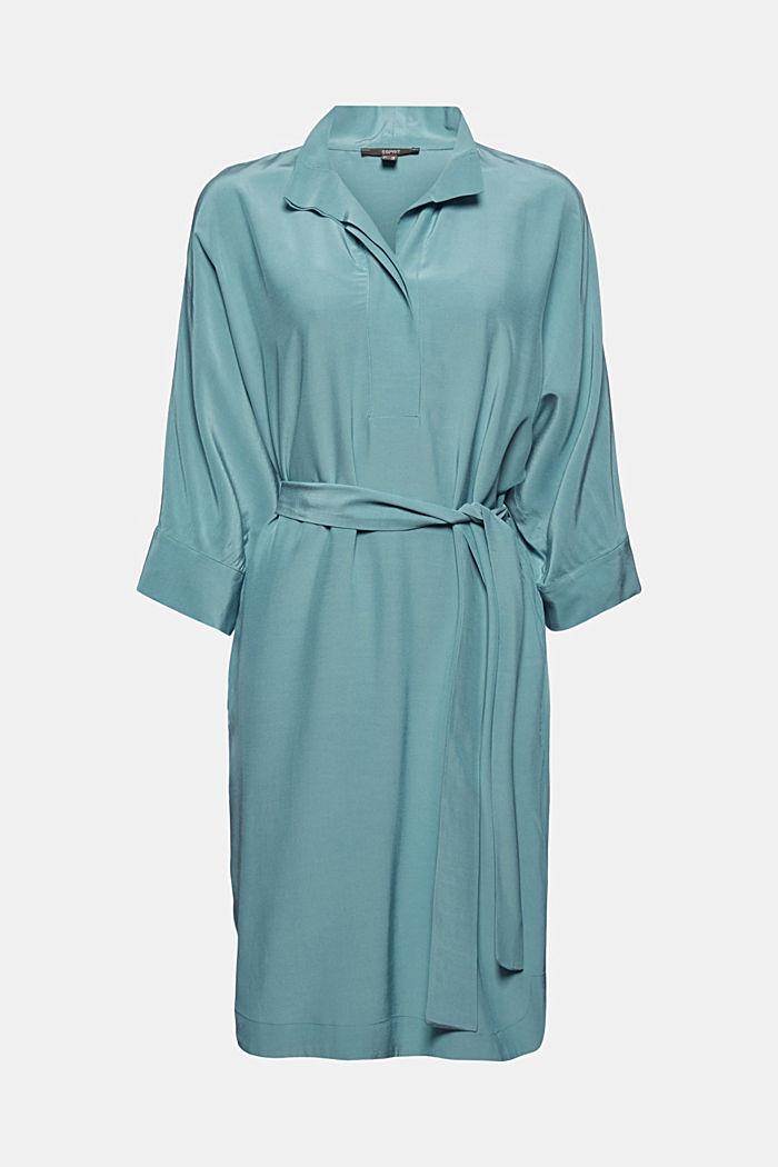 Jurk in kimonostijl met LENZING™ ECOVERO™