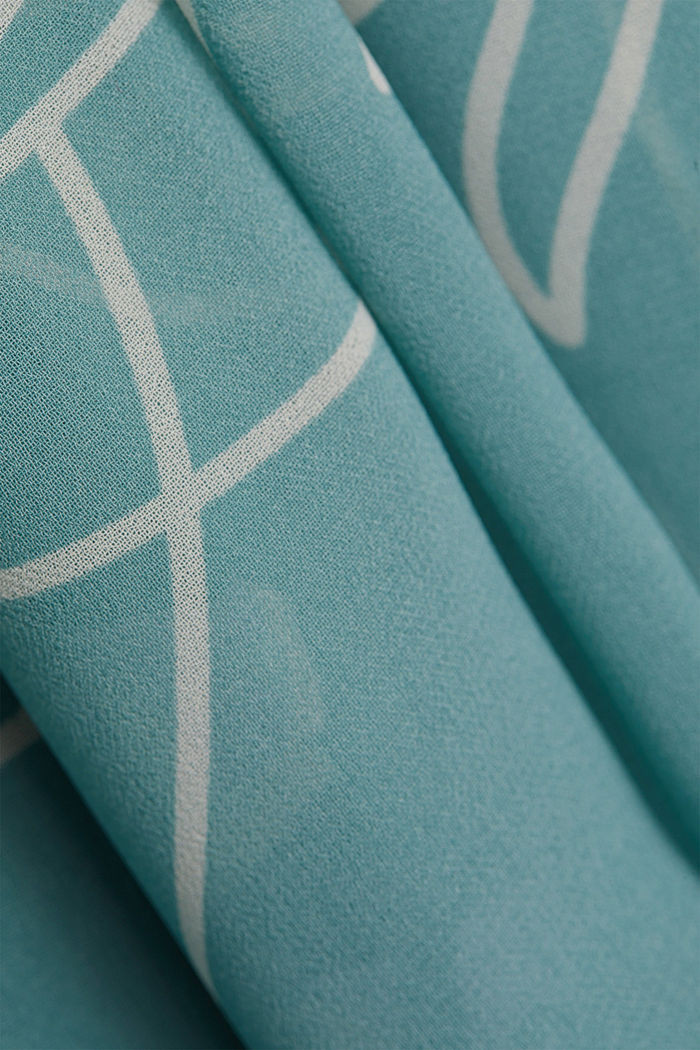 Recycled: Maxi dress with a bow detail, DARK TURQUOISE, detail image number 4