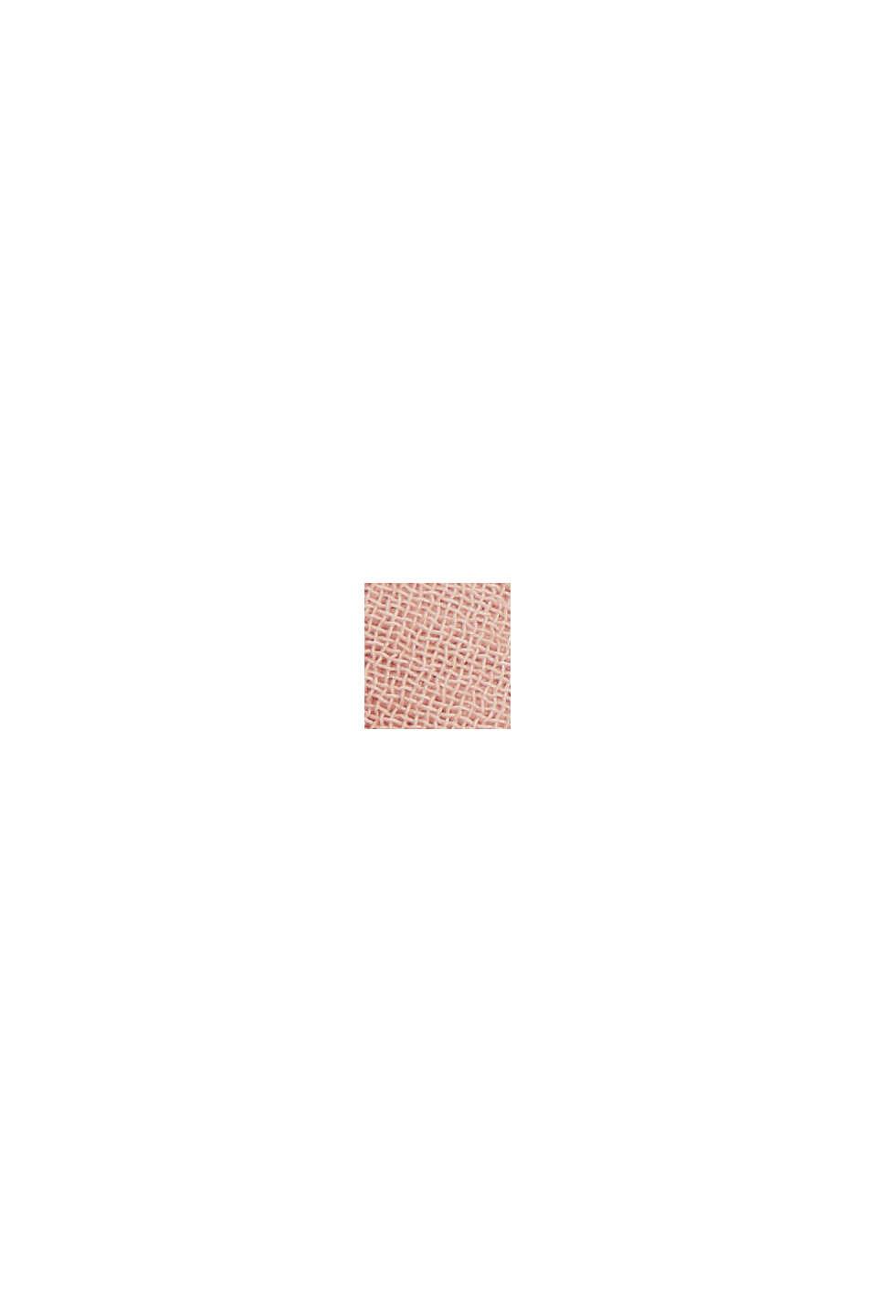 Af genanvendte materialer: Maxi-kjole med sløjfedetalje, NUDE, swatch
