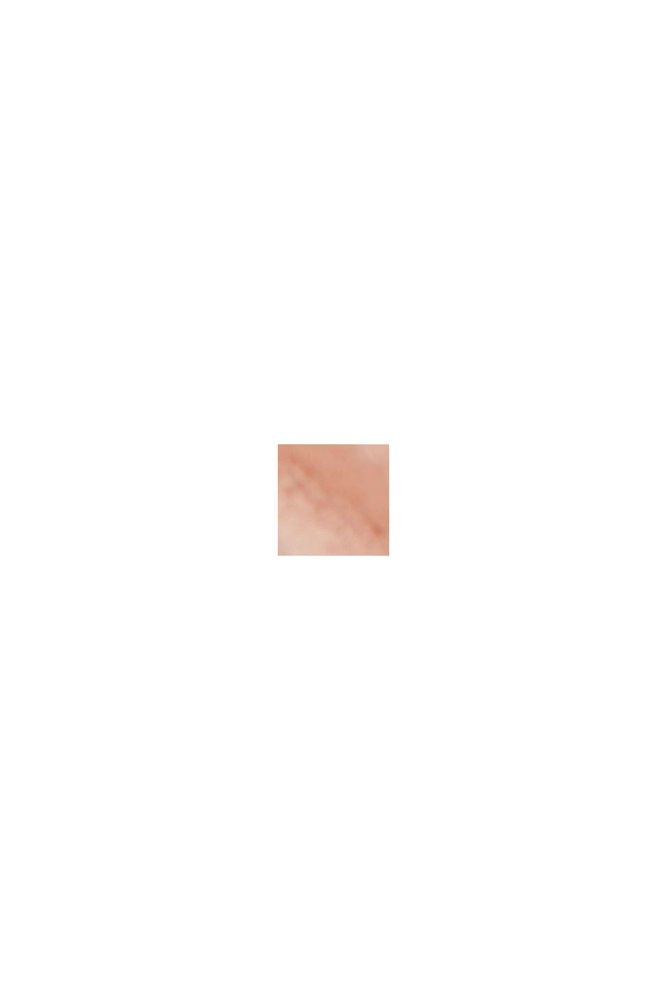 Recycelt: plissiertes Kleid aus Crêpe-Chiffon, NUDE, swatch