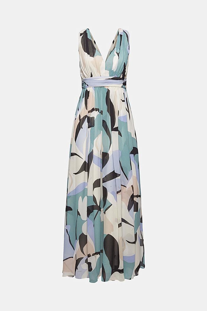 En matière recyclée: la robe maxi longueur en mousseline