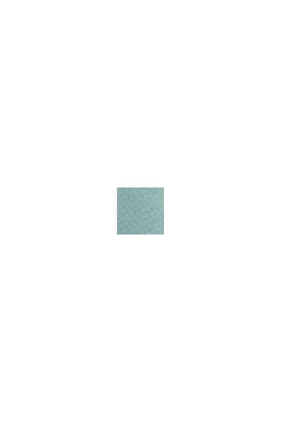 Materiale riciclato: abito maxi in chiffon, DARK TURQUOISE, swatch