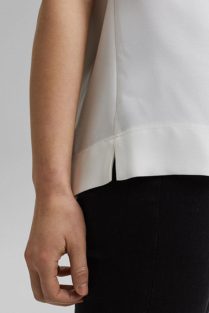 Blouse, OFF WHITE, detail image number 5