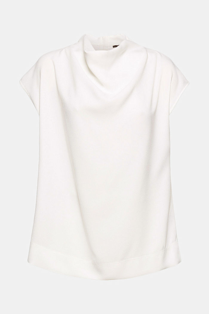 Blouse, OFF WHITE, detail image number 8