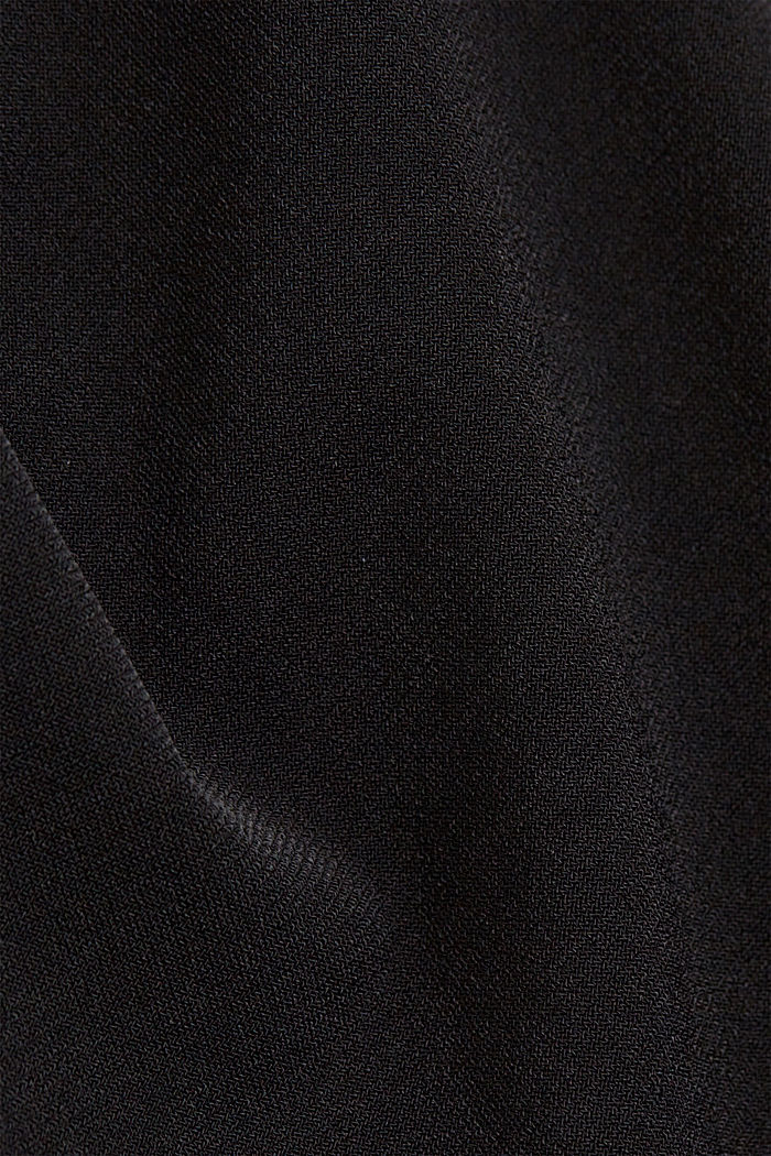 Recycled: sophisticated blouse, BLACK, detail image number 4