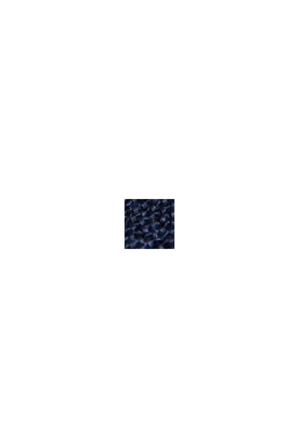 Blusa con estampado botánico y LENZING™ ECOVERO™, NAVY, swatch