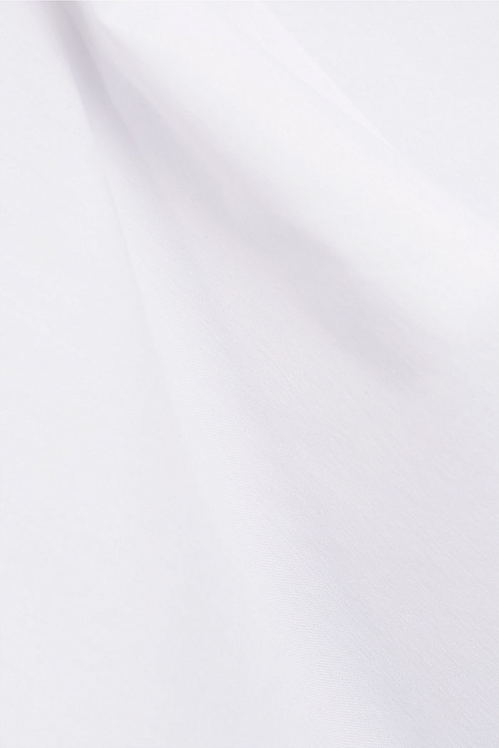 Pull-on blouse in a kimono style, WHITE, detail image number 4