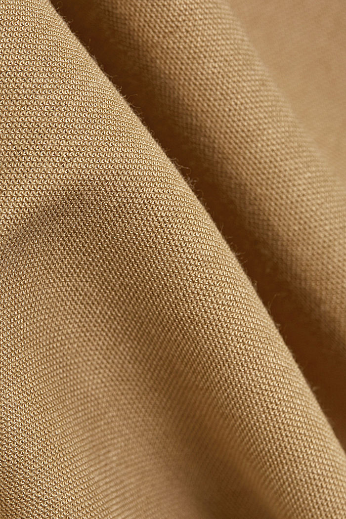 PIQUE Mix + Match long cardigan, BEIGE, detail image number 4