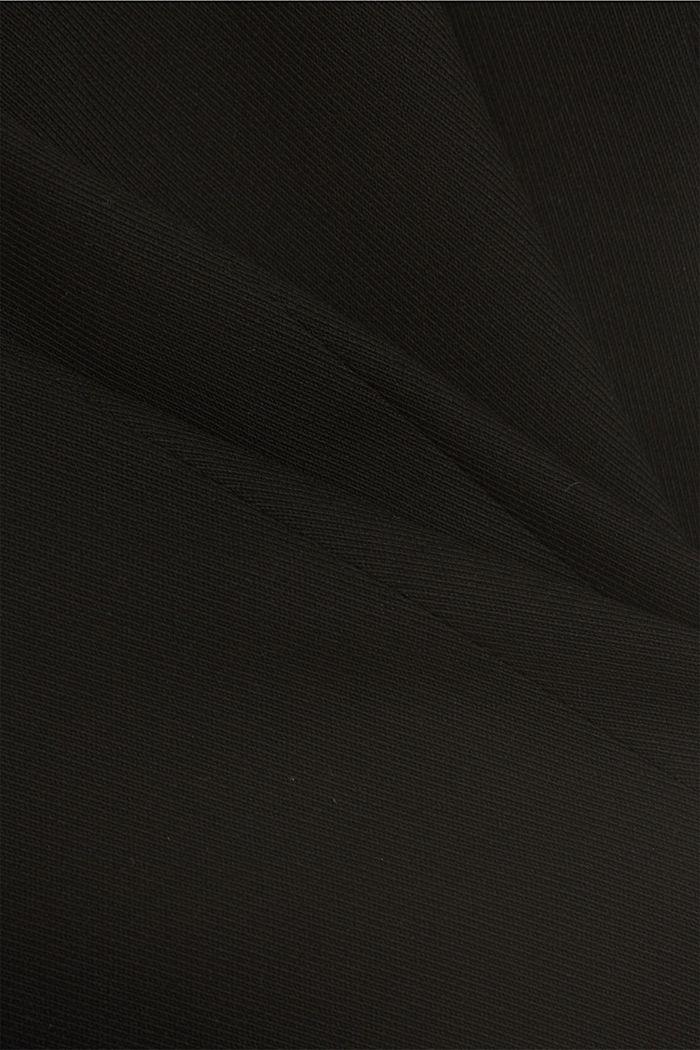 TWILL Mix + Match licht getailleerde blazer, BLACK, detail image number 4