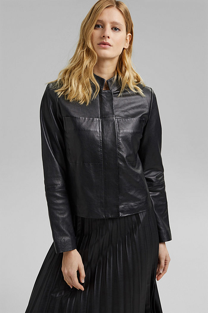 Leather jacket made of 100% leather