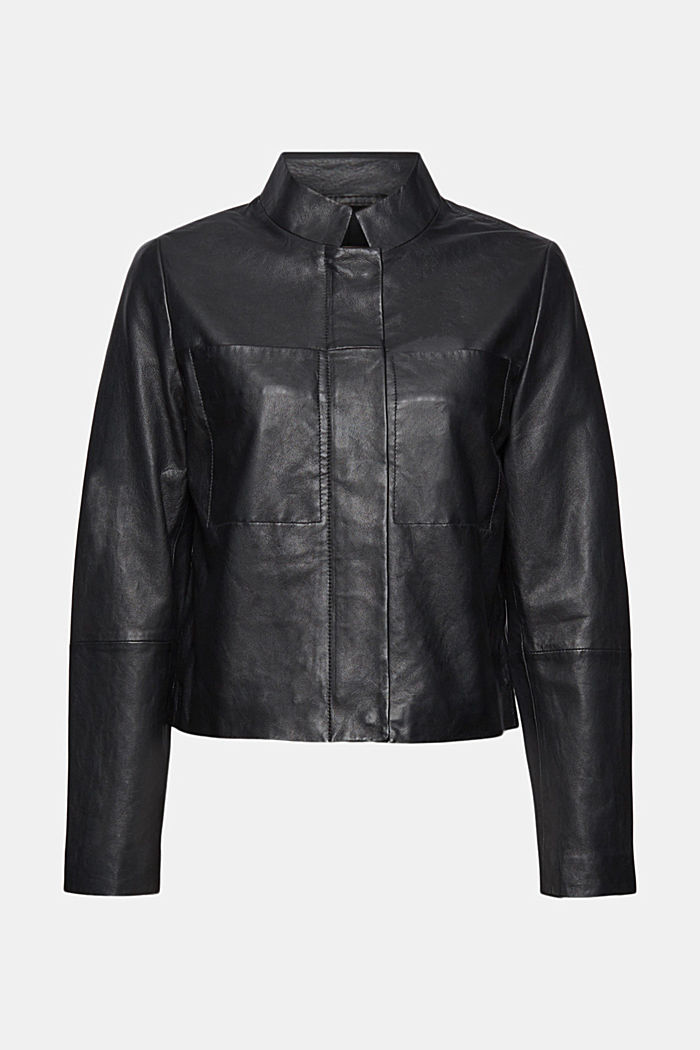 Leather jacket made of 100% sheepskin