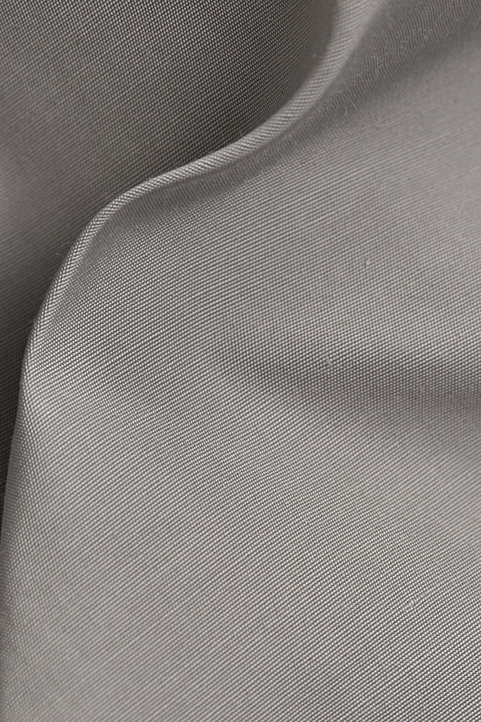 Lightweight coat with a hood, SILVER, detail image number 4