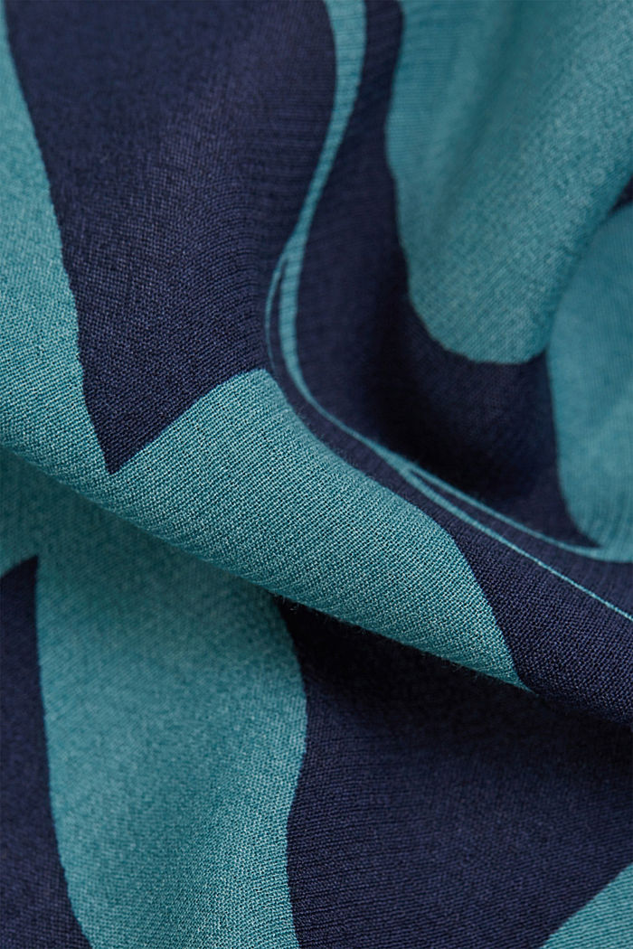 Kimono jacket in LENZING™ ECOVERO™, NAVY, detail image number 4