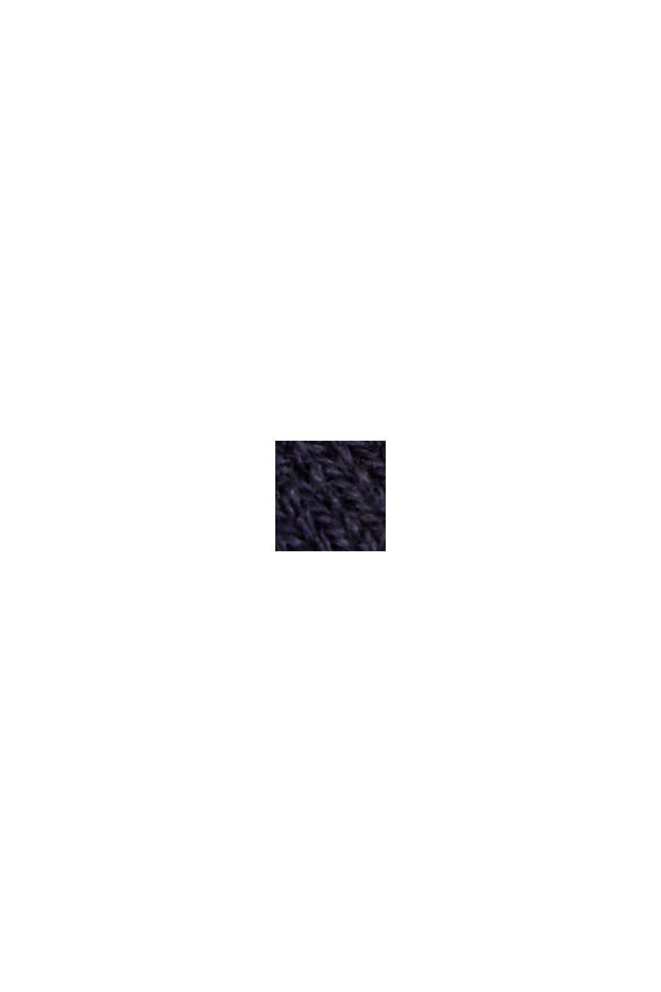 Kardigan z krótkim rękawem, z włóknem LENZING™ ECOVERO™, NAVY, swatch