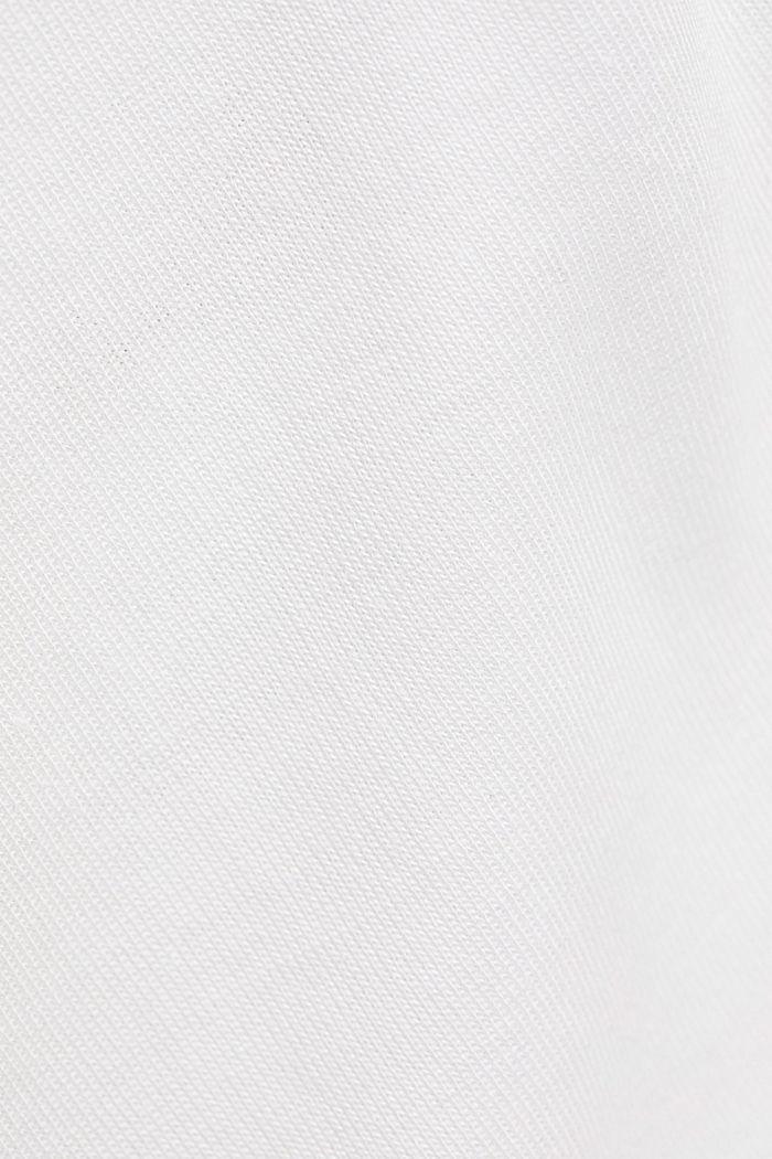 TENCEL™: T-Shirt mit U-Boot-Ausschnitt, OFF WHITE, detail image number 4