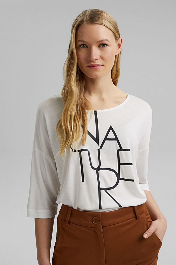 Fashion T-Shirt, OFF WHITE, detail image number 0