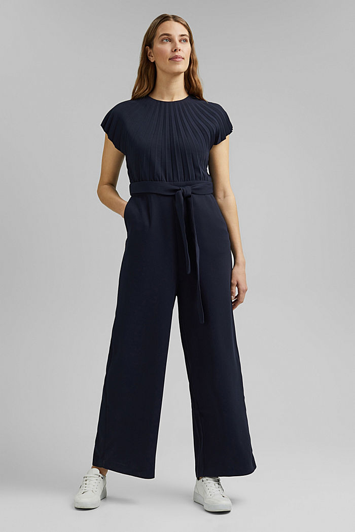 Overalls woven, NAVY, detail image number 1