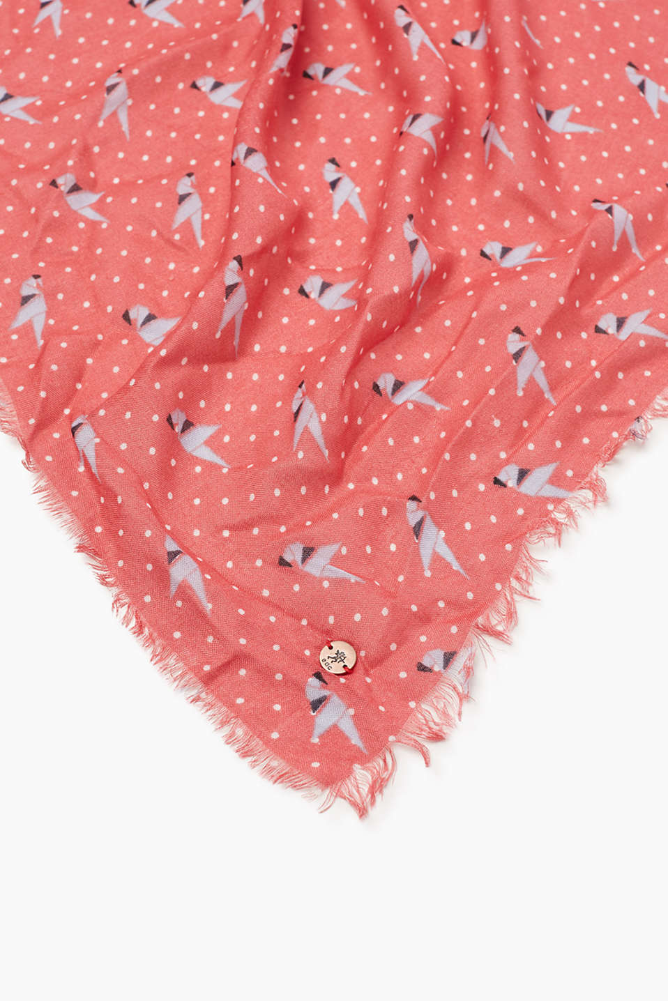 Soft printed scarf