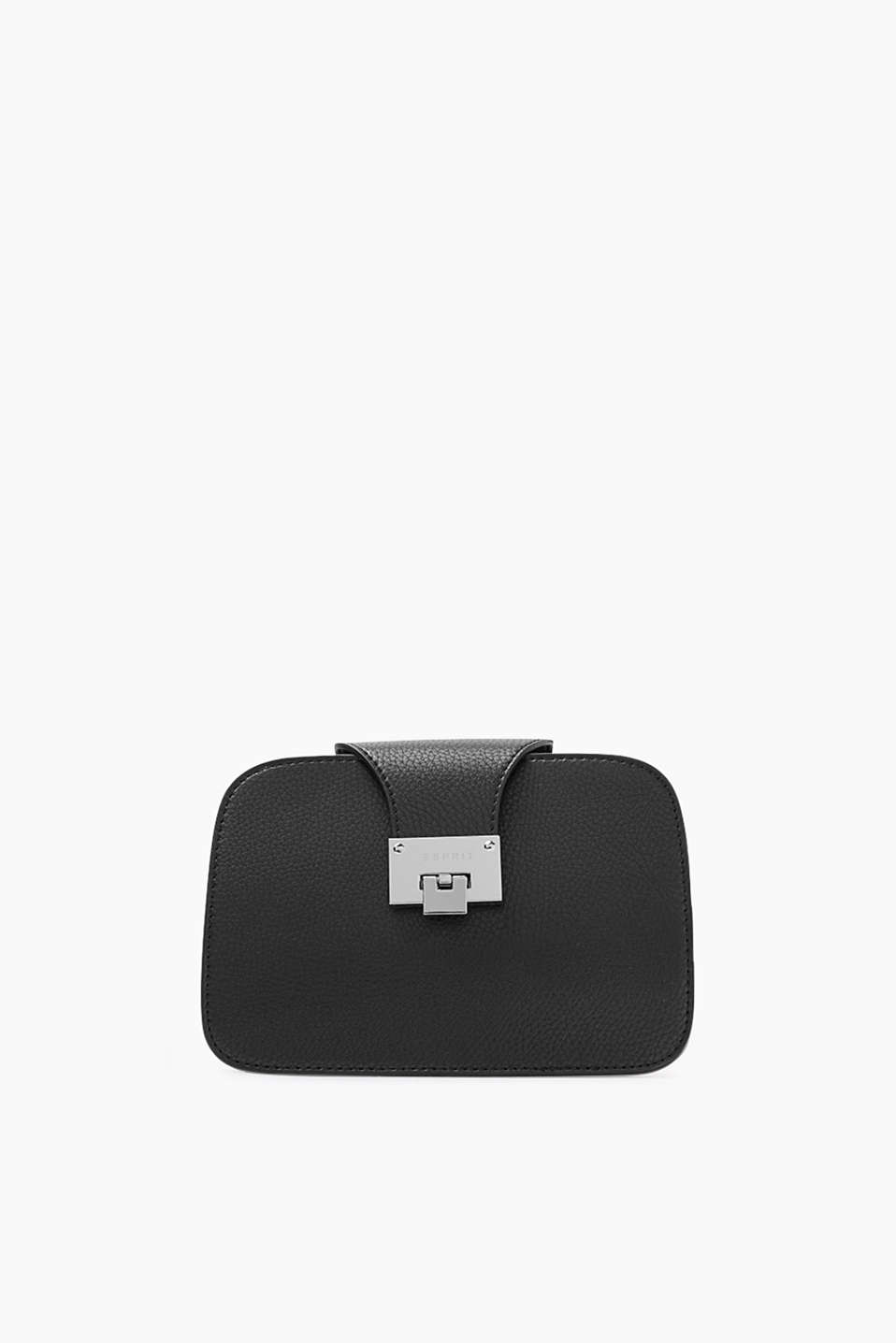 Esprit - Shoulder bag with a strap in faux leather