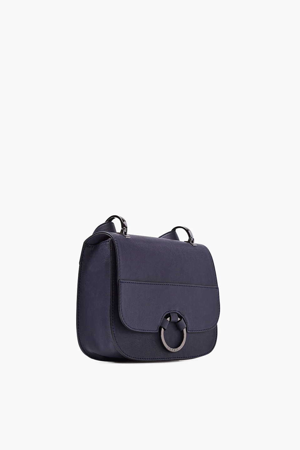 Shoulder bag in imitation leather