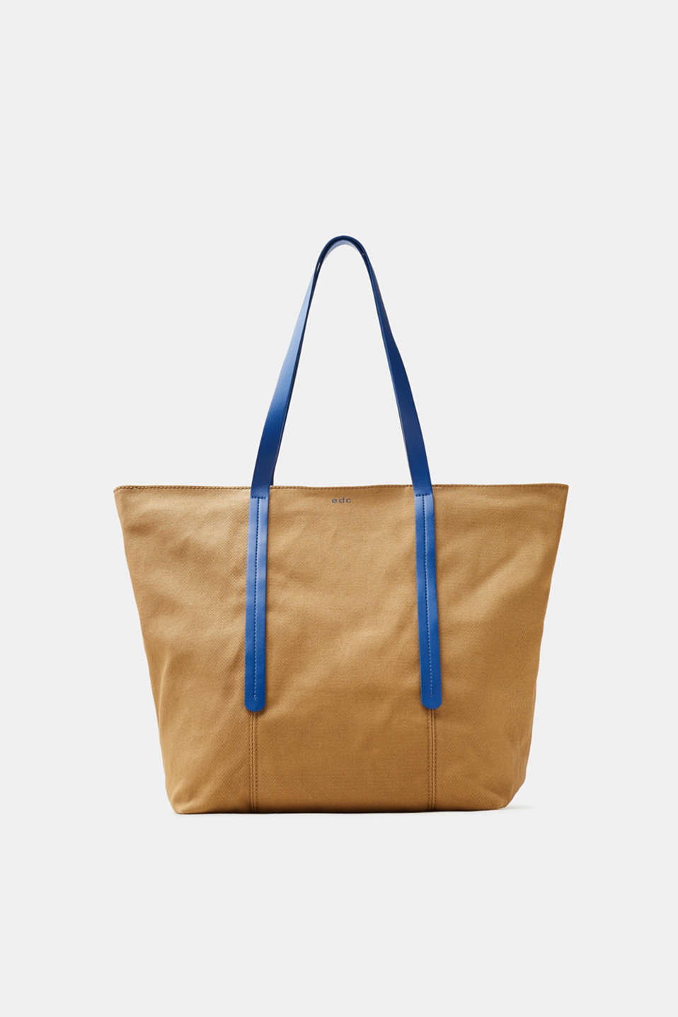 edc - Canvas-Shopper mit Baumwolle