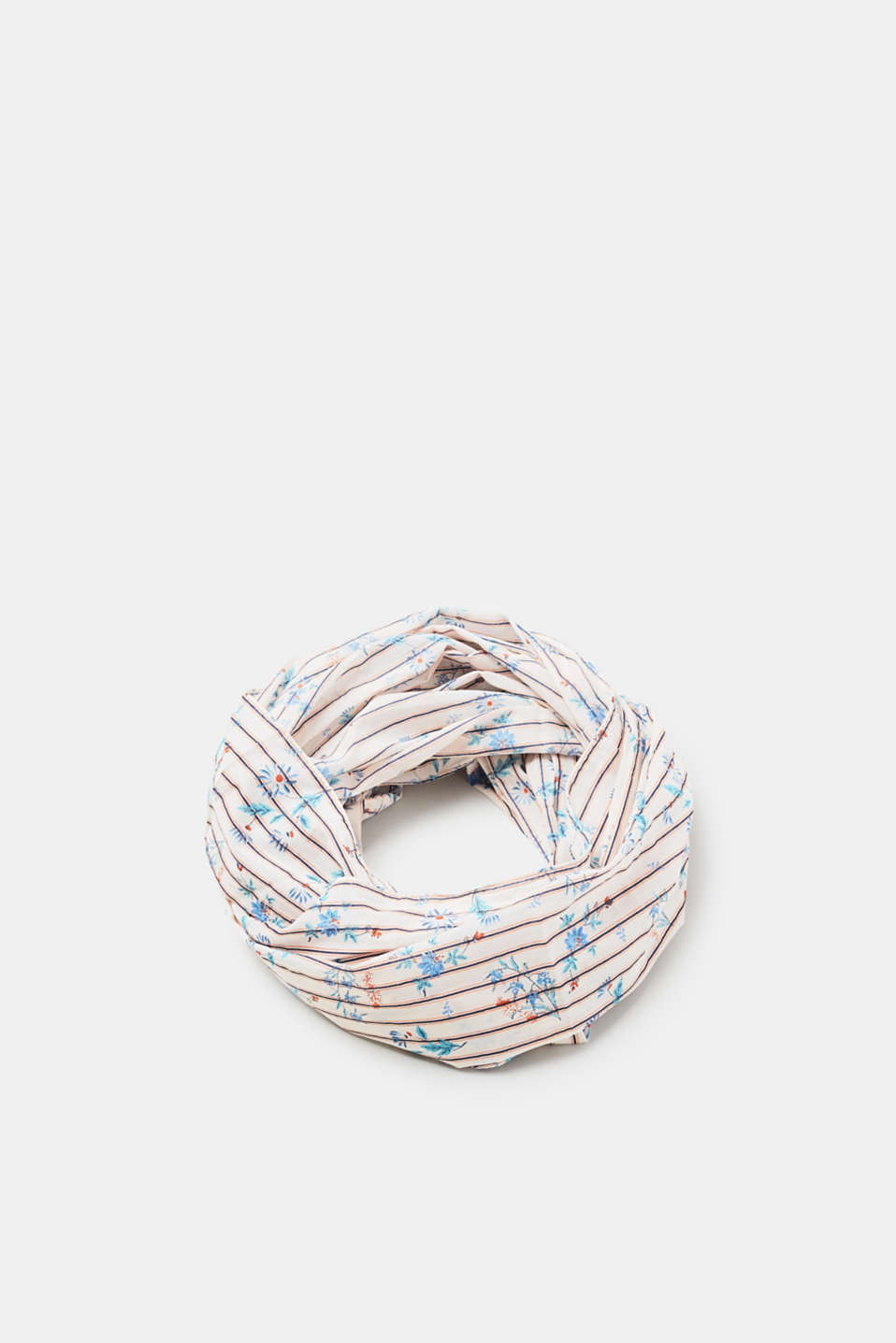 edc - Cotton snood with a floral print