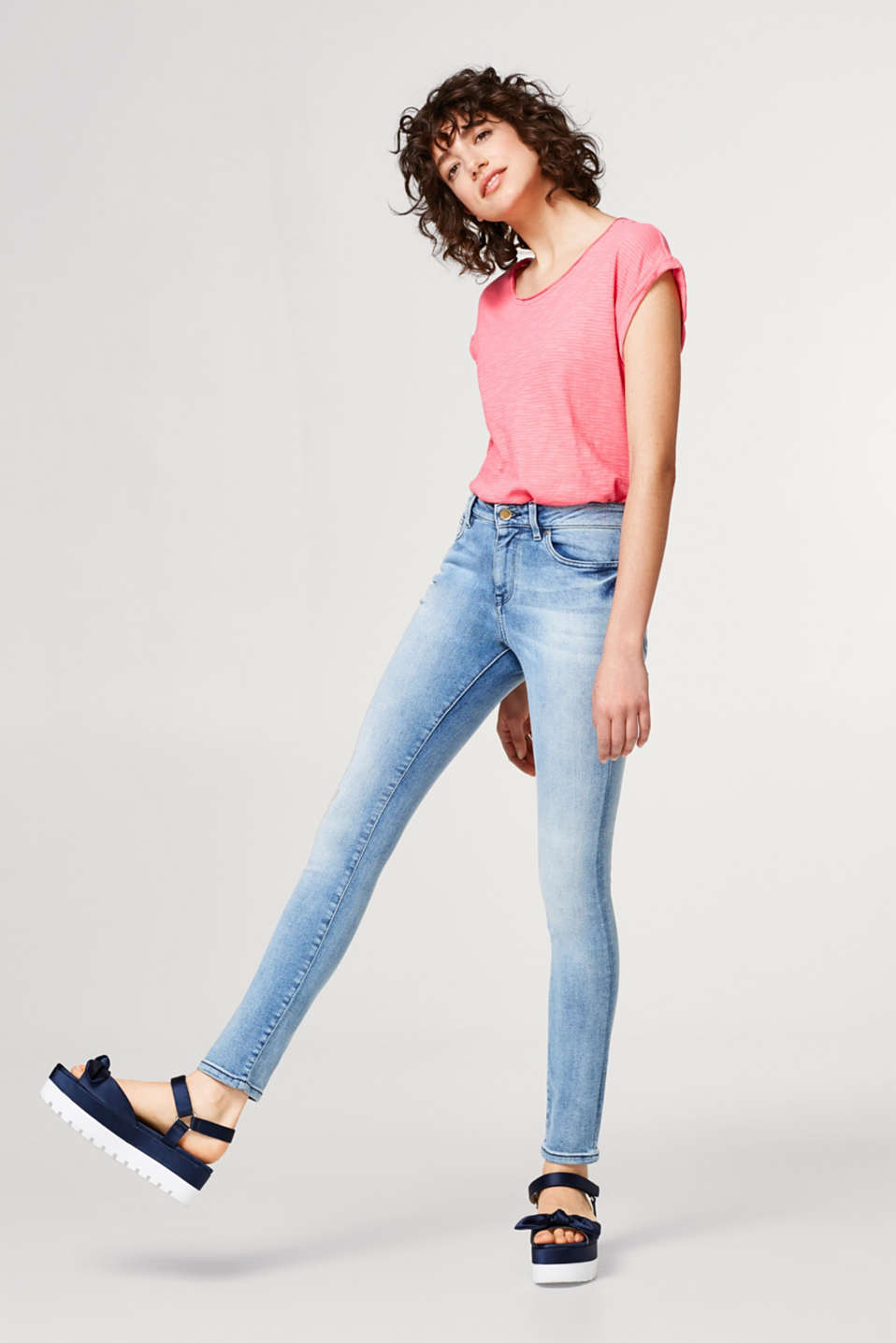 edc - Acid look super stretch jeans