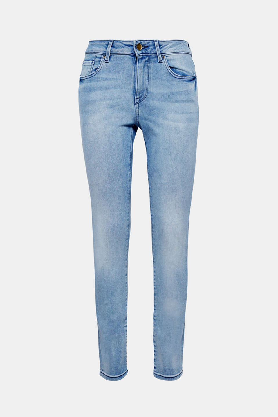 Supersoft jogg denim and a trendy wash make these jeans a favourite piece.
