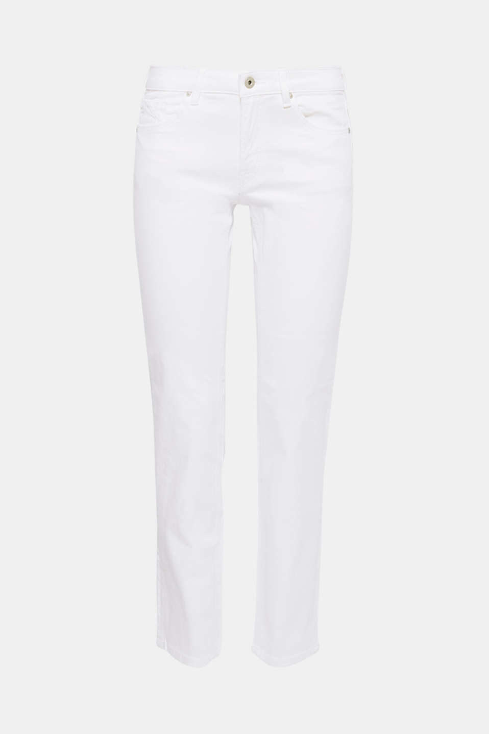 These straight cut stretch jeans in a classic five-pocket design are the perfect wardrobe essential!