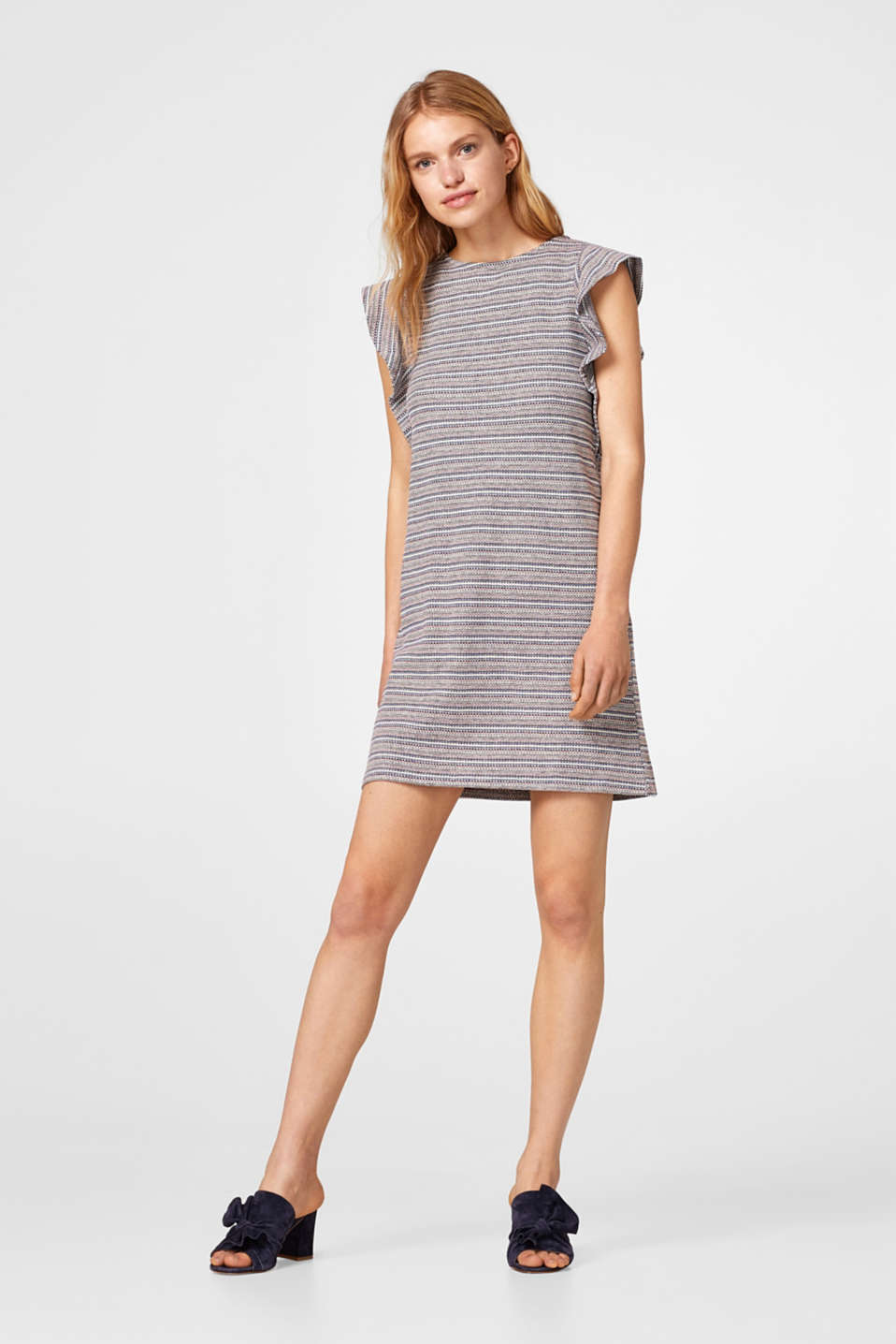 edc - Frill detail dress