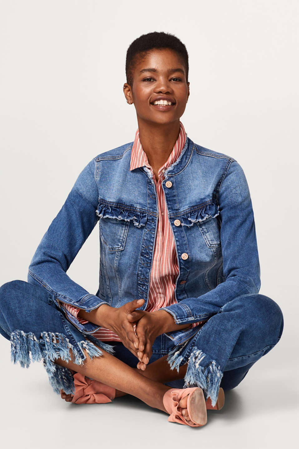 edc - Casual, feminine denim jacket