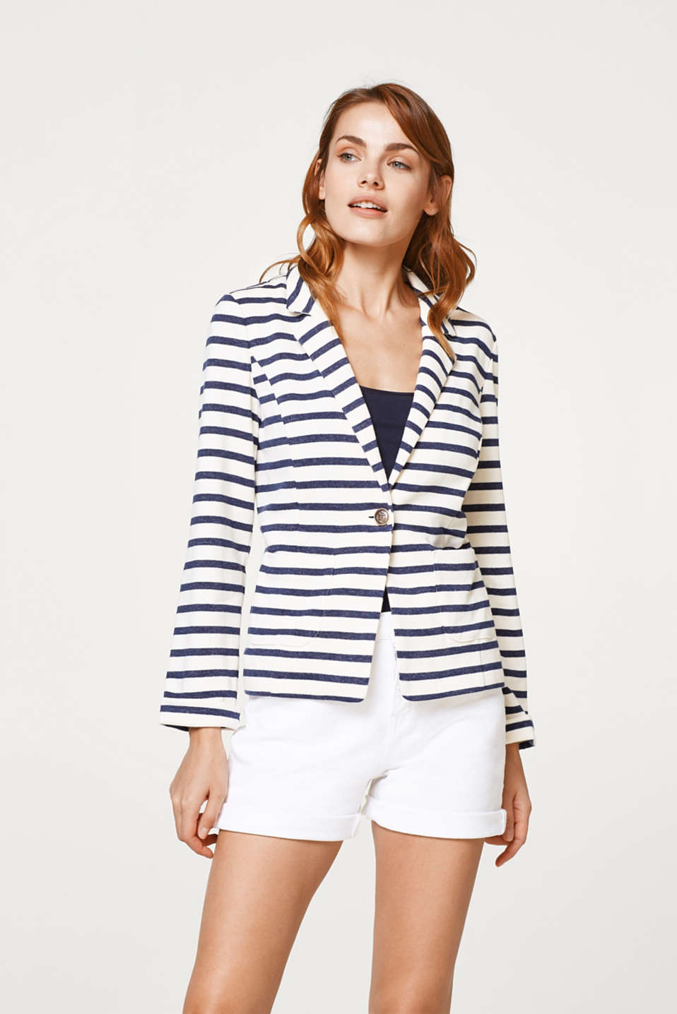 edc - Nautical sweatshirt blazer