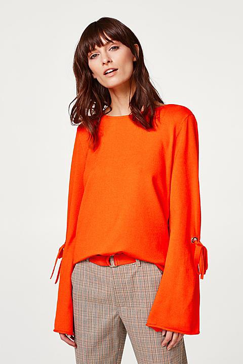 Kompakter Pullover mit Trend-Ärmeln