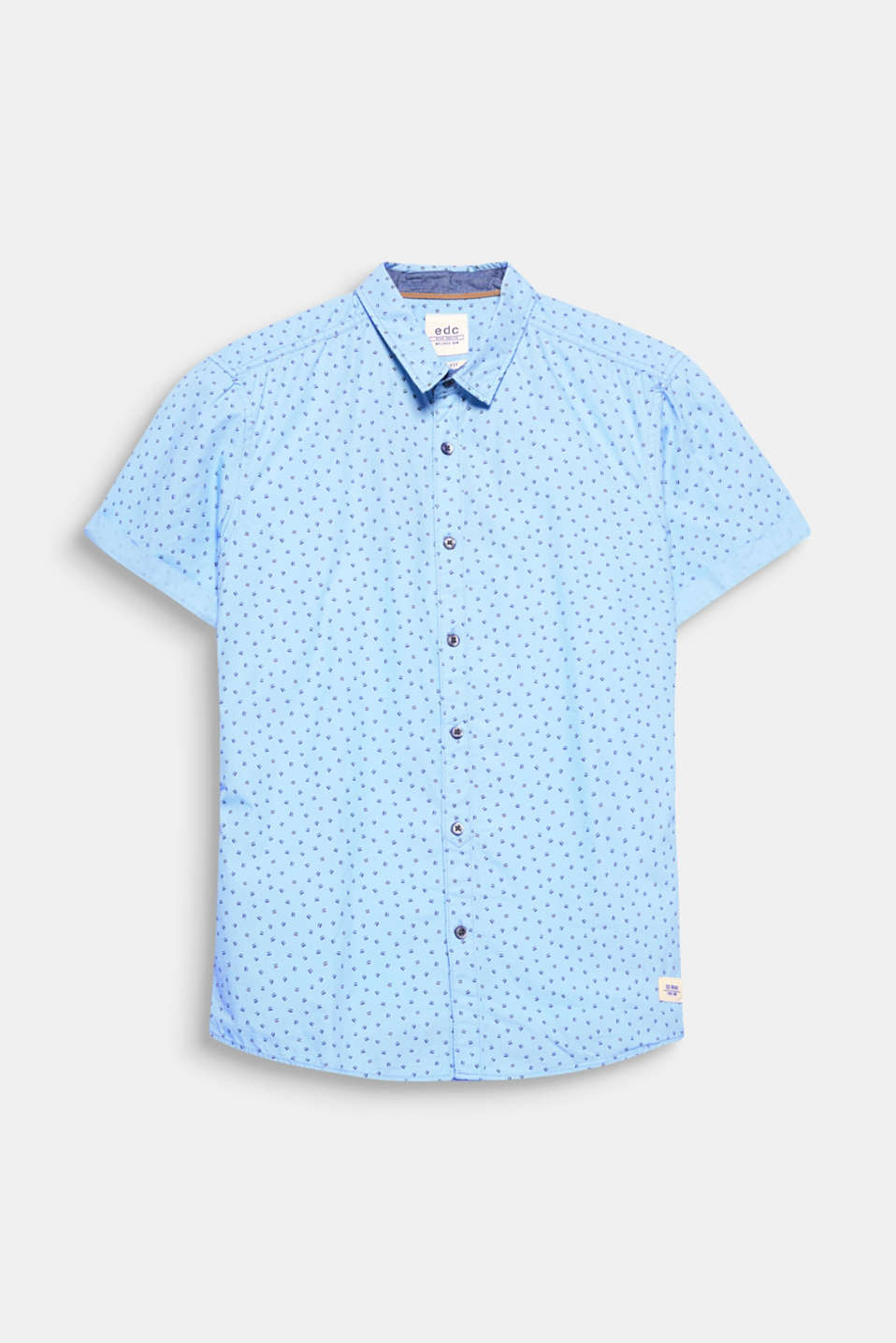 Minimal print, maximal effect! The geometric print gives this short sleeve shirt a fresh look.
