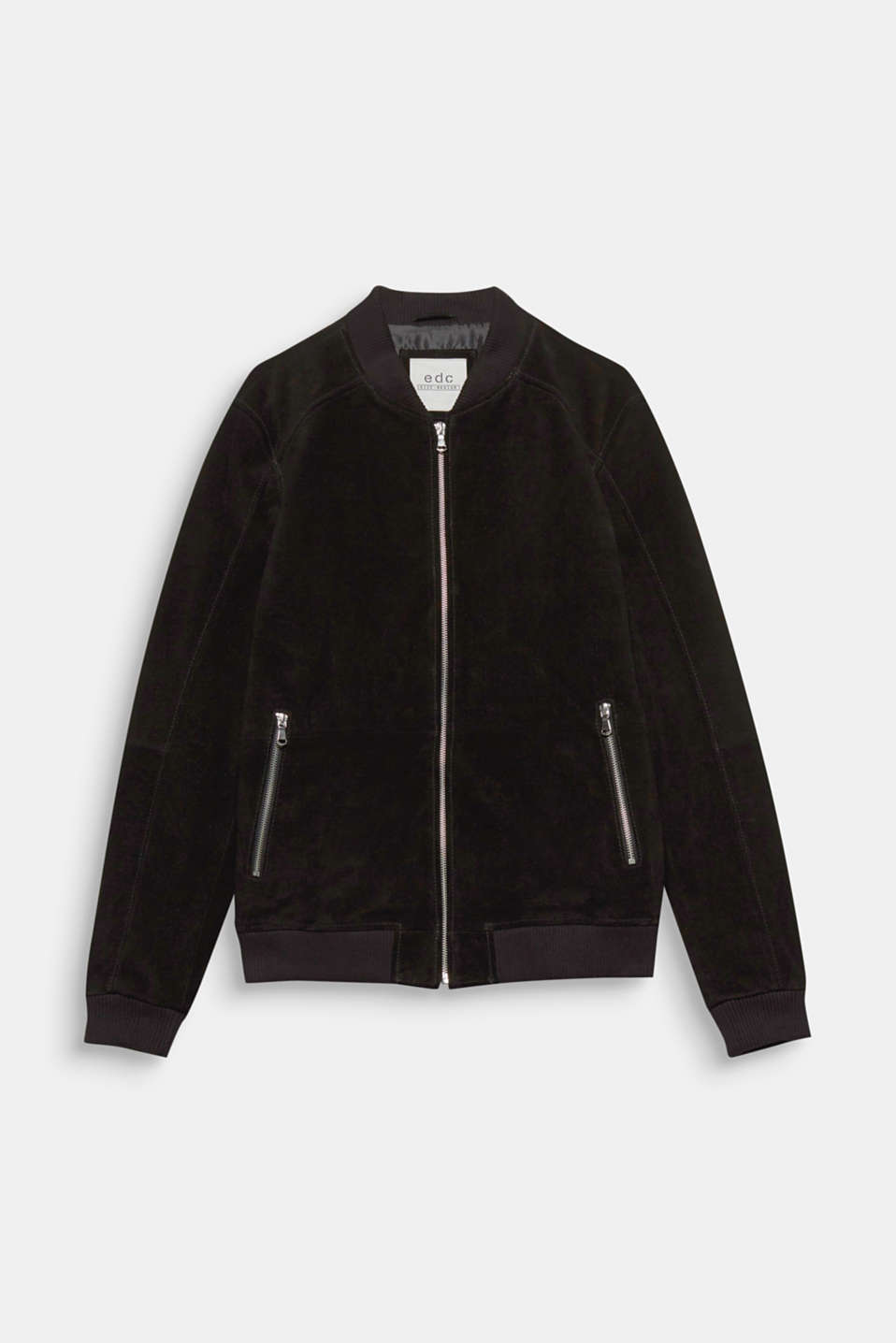 A sporty fashion highlight: bomber jacket in soft suede