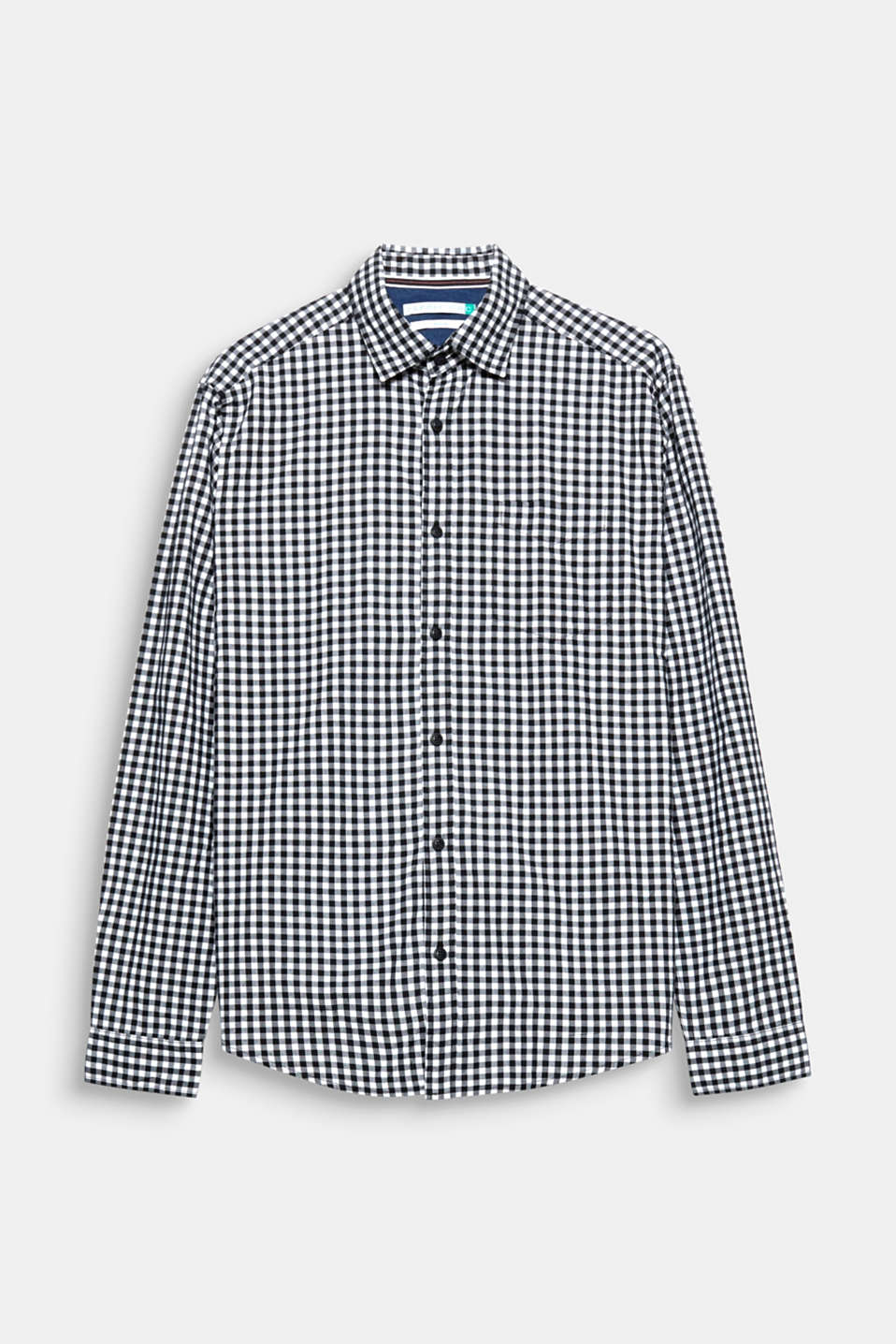 A head-turner thanks to a spring-ready check pattern in trendy colours: pure cotton shirt