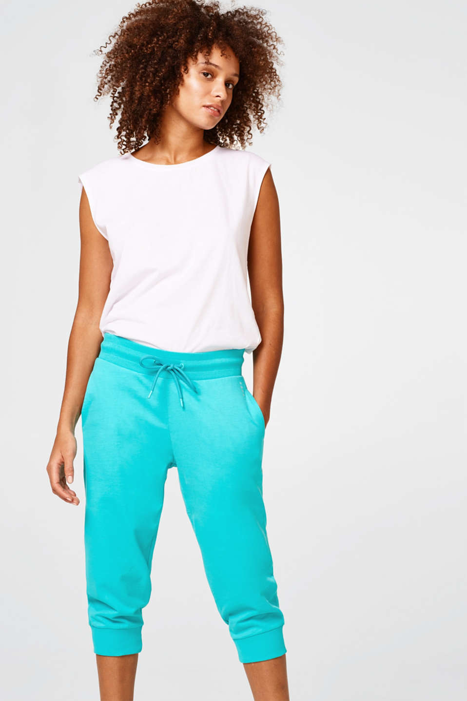 Esprit - Super soft capris in a relaxed cut