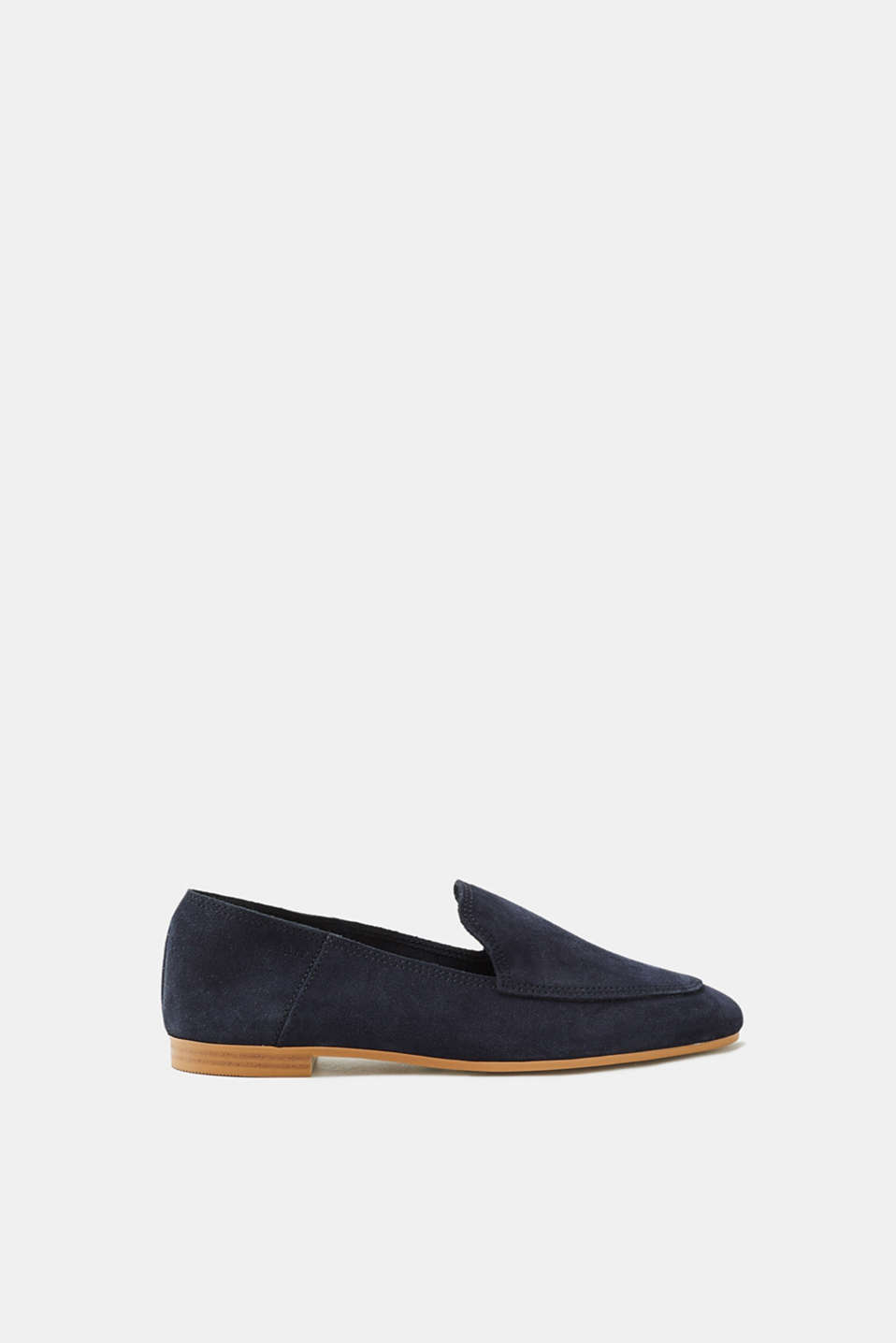 Esprit - Soft suede loafers