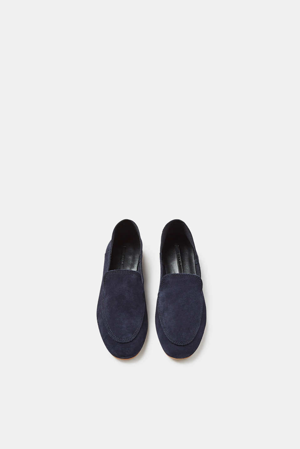 Soft suede loafers