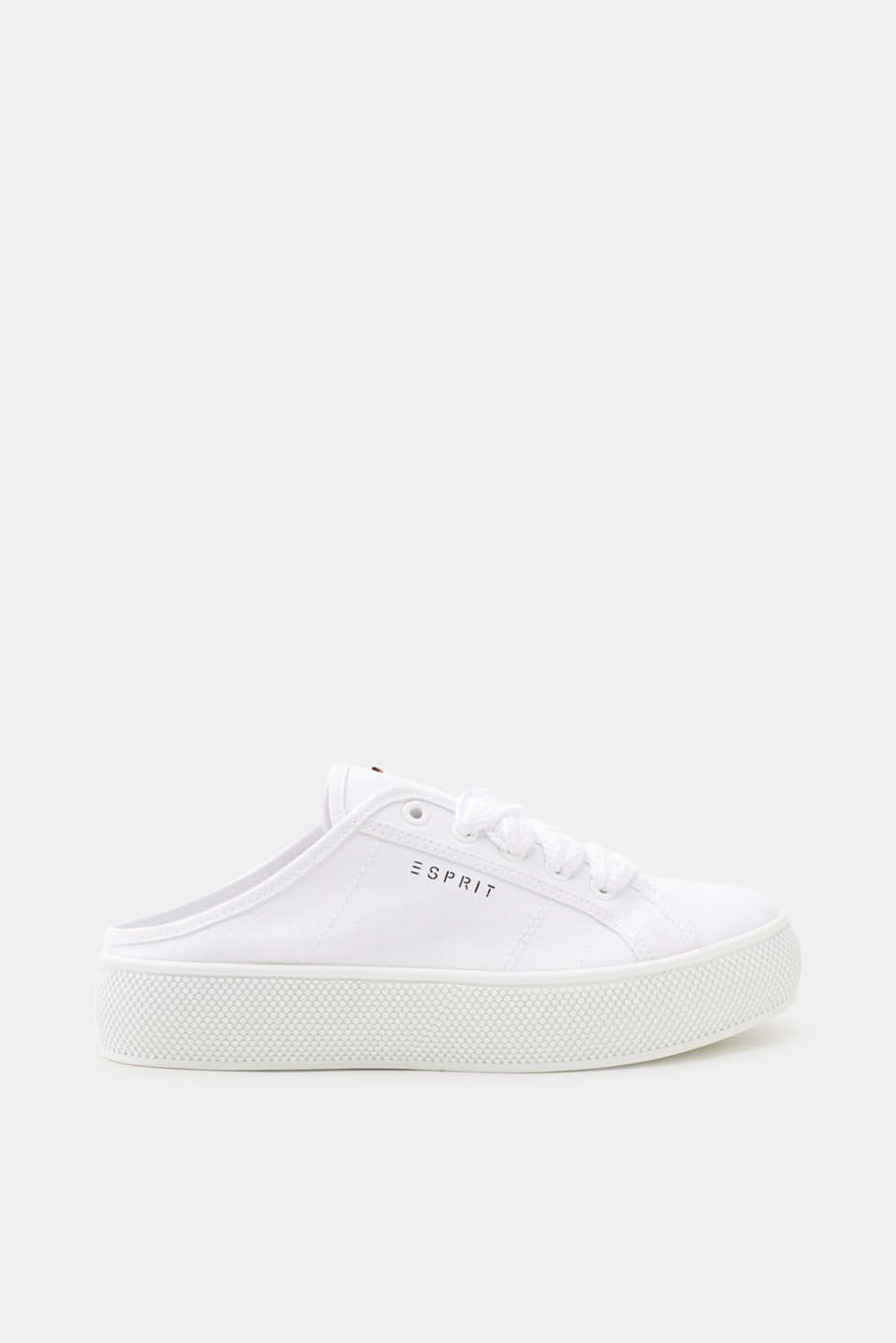 Simple to slide into! The lightweight canvas fabric makes these slip-on trainers something special.
