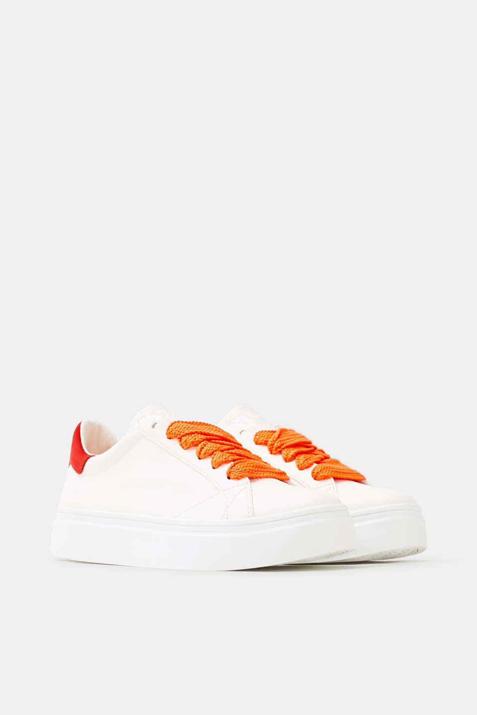 Trendy trainers with colourful accents