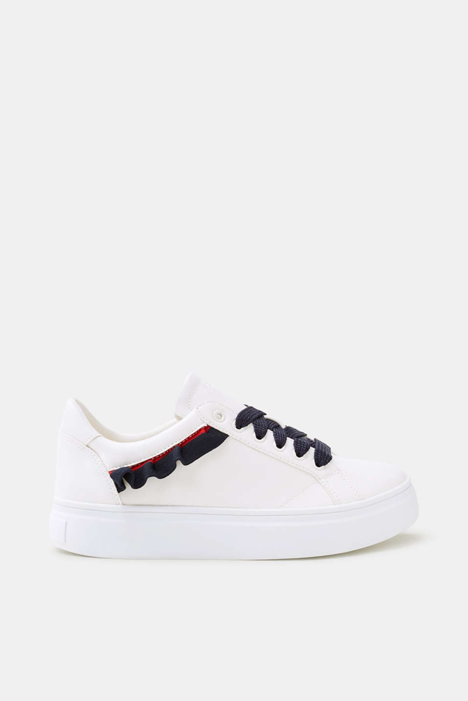Esprit - Trendy trainers with frilly details