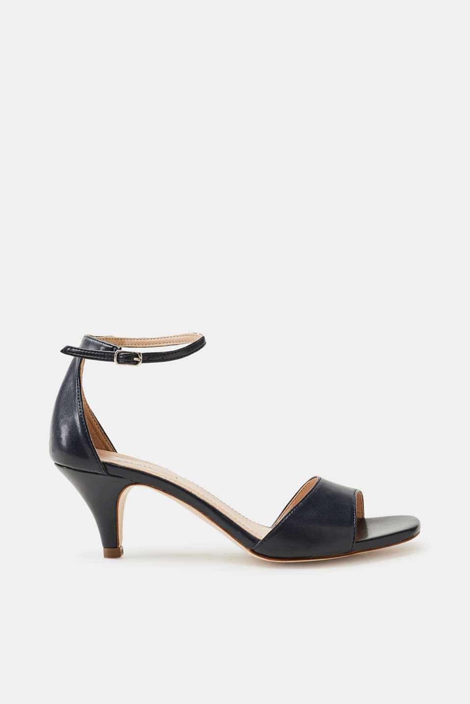Esprit - smooth faux leather sandals