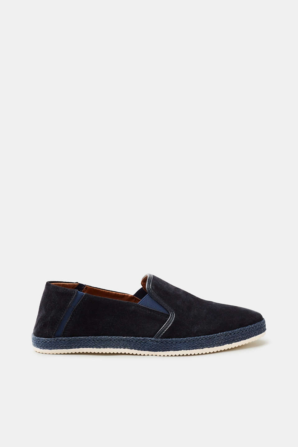 Esprit - Summery suede loafers