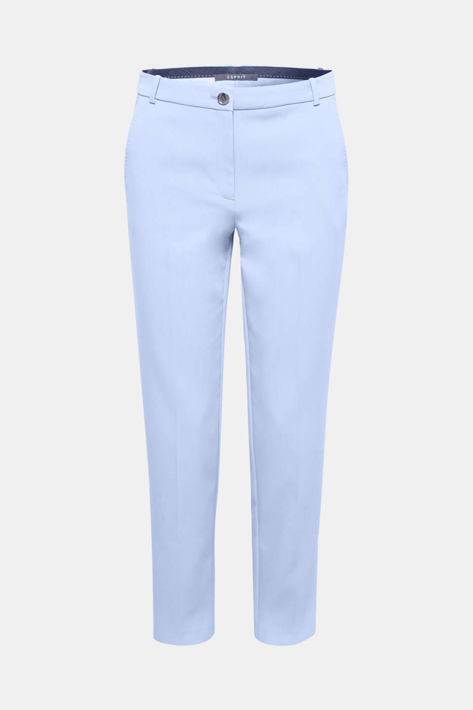 These classic business trousers are a perfect accompaniment with the fine twill fabric and pressed pleats!